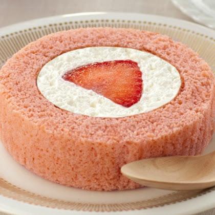 プレミアム あまおう苺のロールケーキ