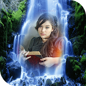 Waterfall Photo Frame