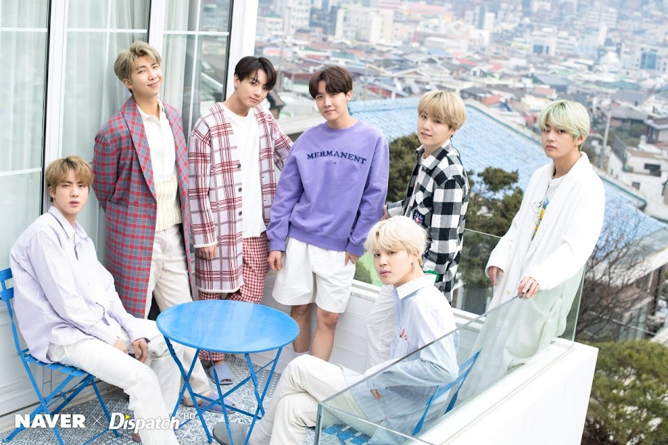 BTS dispatch white day