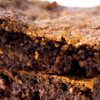 Grandma's Chewy Caramel Brownies