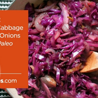 Sautéed Red Cabbage with Onions & Apples.