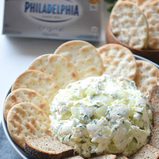 15-Minute Cream Cheese Tzatziki