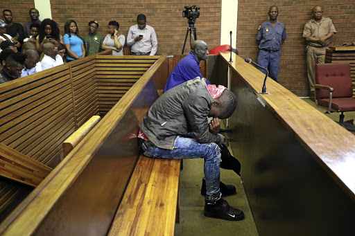 The two accused for the murder of seven people in Vlakfontein appeared in the Lenasia magistrate's court yesterday.