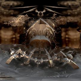 Future Completion by Rick Eskridge - Illustration Sci Fi & Fantasy ( jwildfire, mb3d, fractal, acdsee 19, twisted brush )