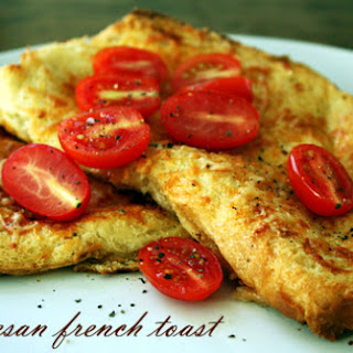 Savoury Parmesan French Toast
