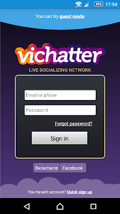Vichatter Client- screenshot thumbnail