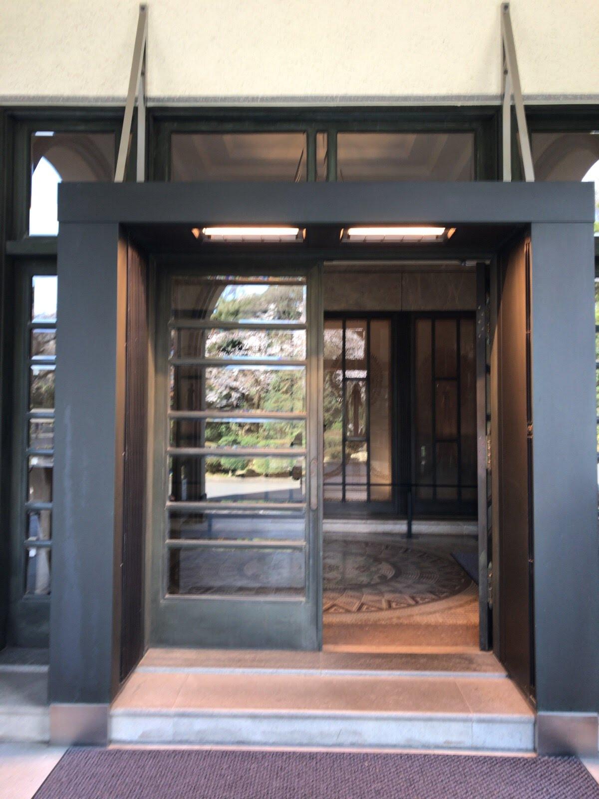 こんな「お宅探訪」でした。【東京都庭園美術館】その2(1階編)