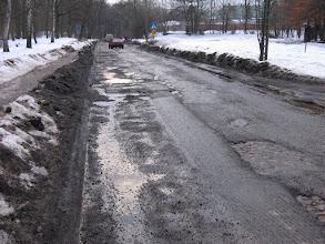 Photo: Łódź, ul. Okólna w lutym 2006 r.