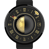 Moonlander watchface by Materi