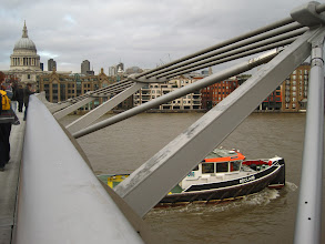 Photo: Millenium Bridge, London