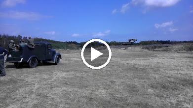Video: Fotografie a videa z dubnové školy řidičů na tankodromu v Milovicích, které se pod vedením VCC Sturm zúčastnili i členové Klubů vojeské historie Wurm, Choceň a Süd.