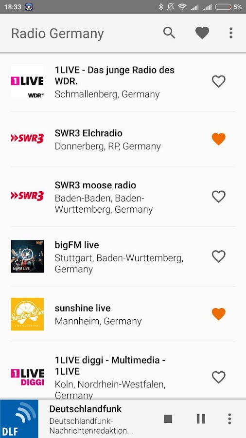 Radio Germany- screenshot