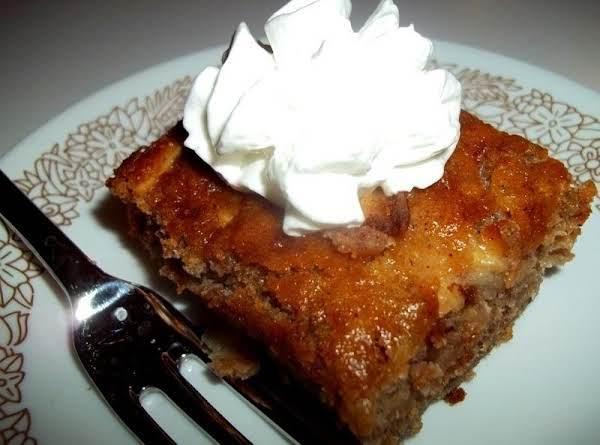 Gone Banana's & Apple Oatmeal Cake Recipe