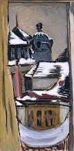 """Photo: Marie-Louise von Motesiczky, """"Vista dalla finestra, Vienna"""" (1925)"""