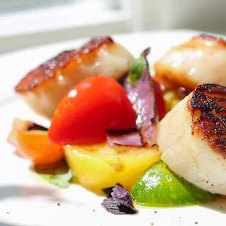 Sea Scallops Alla Caprese