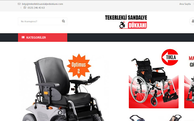 TekerlekliSandalyeDükkanı