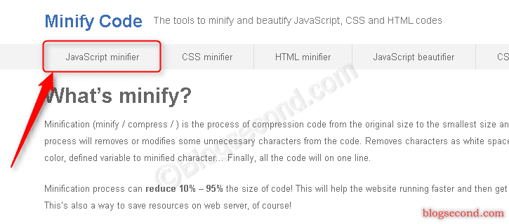Cara Minify Javascript Secara Manual