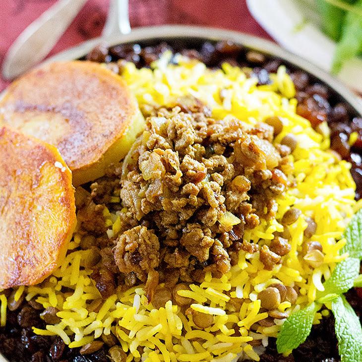 Adas Polo – Persian Lentil Rice Recipe