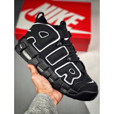 Nike Air More Uptempo OG (Core Black/White)