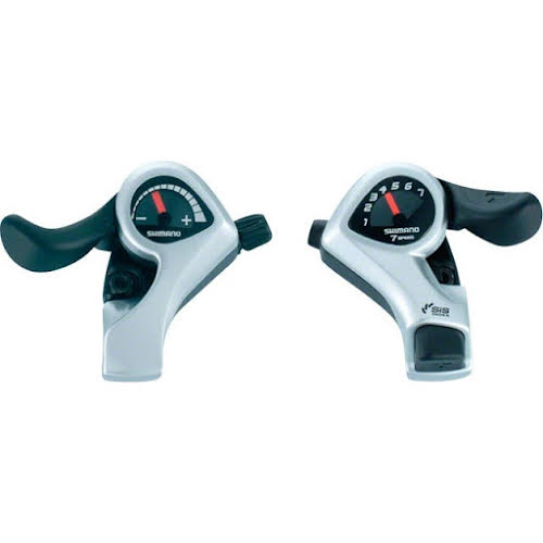 Shimano TX50 Tourney 6-Speed Right and Left (SIS) Thumb Shifter Set