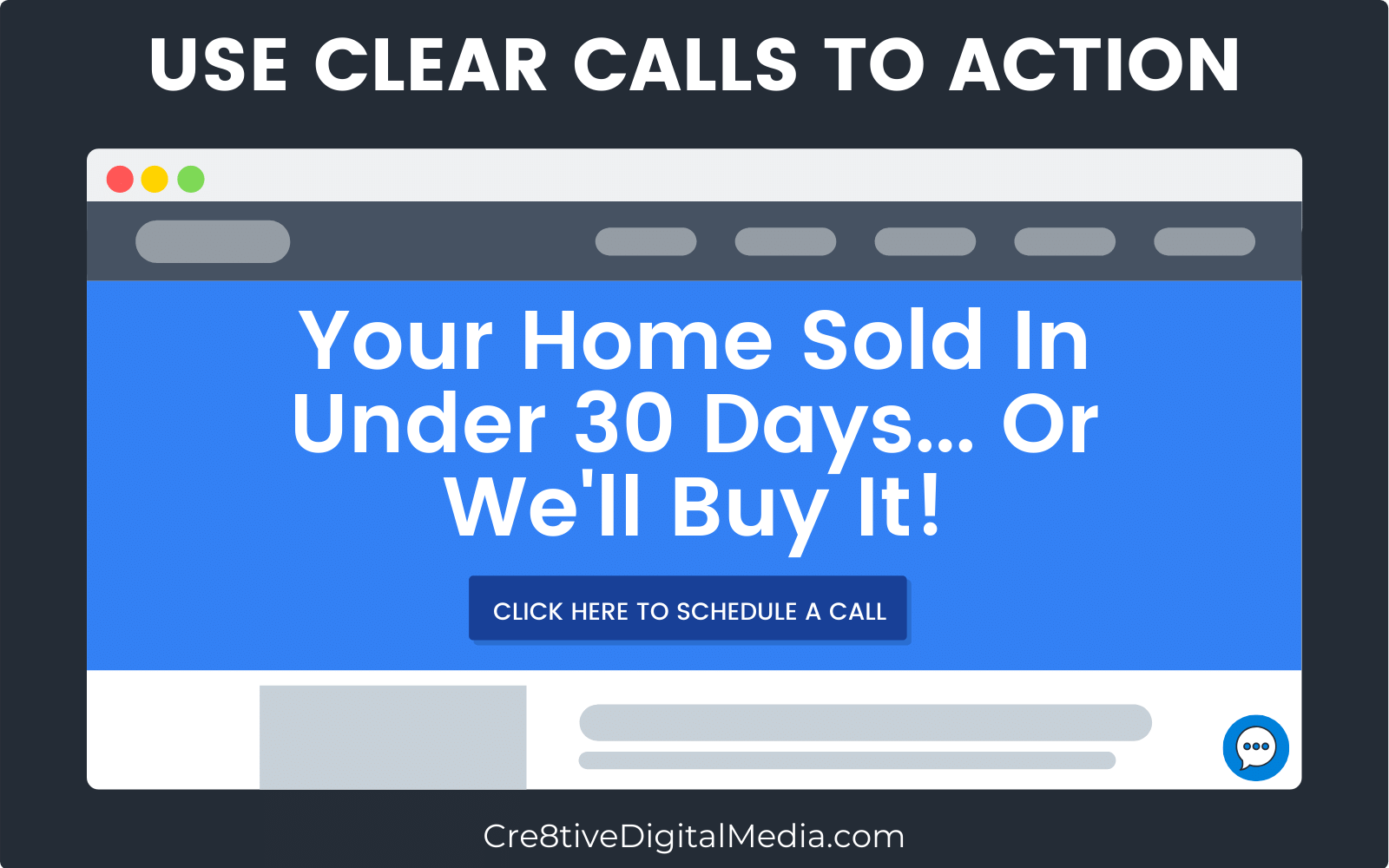 Use Clear Calls-To-Action To Generate Leads Through Your Real Estate Website