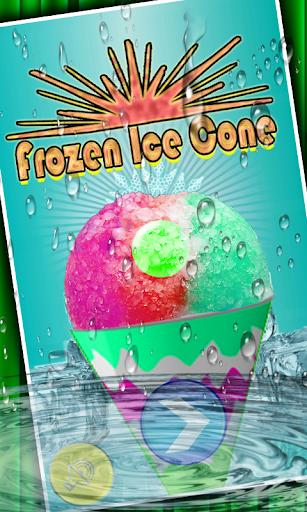 Frozen Ice Cone Maker
