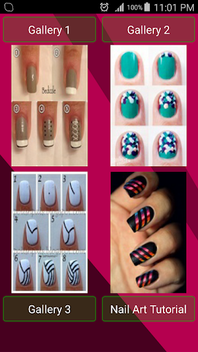 Nail Art Tutorials free app