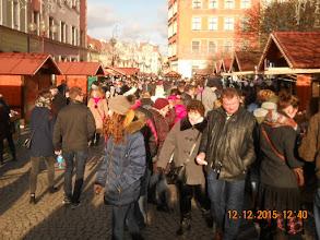 Photo: 12 XII 2015 r. - ale tłum - wiosenna pogoda dopisuje...........
