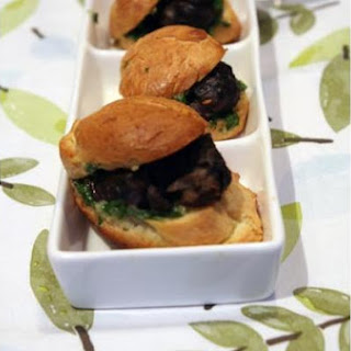 Garlic Butter Escargot In Profiteroles