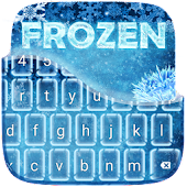 Frozen Keyboard Theme