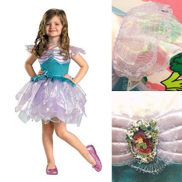 [🎃萬聖節要來了]美國Disney 美人魚閃閃靚裙