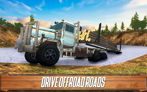 Sawmill Driver: Logging Truck & Forest Harvester  screenshots 4