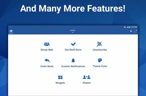 Blue Mail - Email & Calendar App - Mailbox 1.9.5.9 screenshots 11