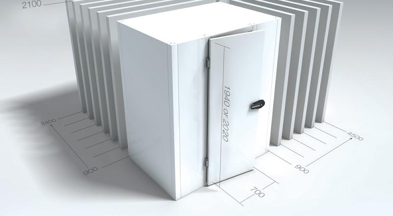 Koelcel MVL BXLXH 120x120x194 cm