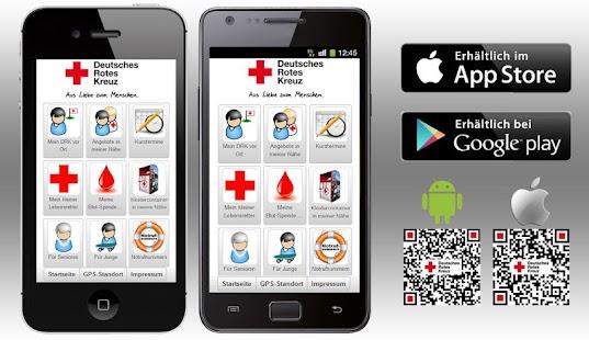 DRK-App - Rotkreuz-App des DRK - náhled