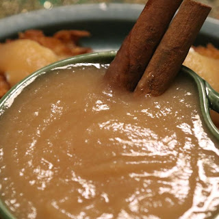 Apple Pear Sauce.