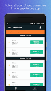 Crypto Trakr - Digital currency tracker & manager- screenshot thumbnail