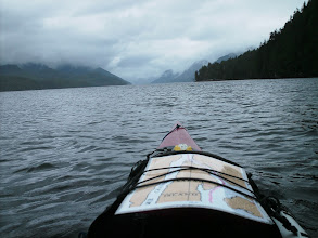Photo: Heading north up Tolmie Channel.