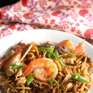 "Loaded ""House"" Lo Mein"