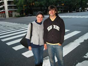 Photo: Ignacio and his girlfriend