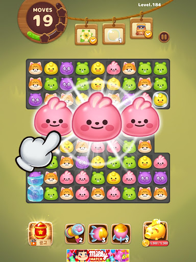 Candy Friends Forest : Match 3 Puzzle 1.1.4 screenshots 19