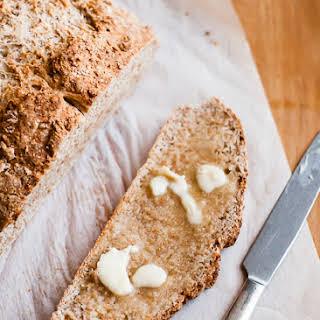 Honey Whole Wheat Irish Soda Bread.