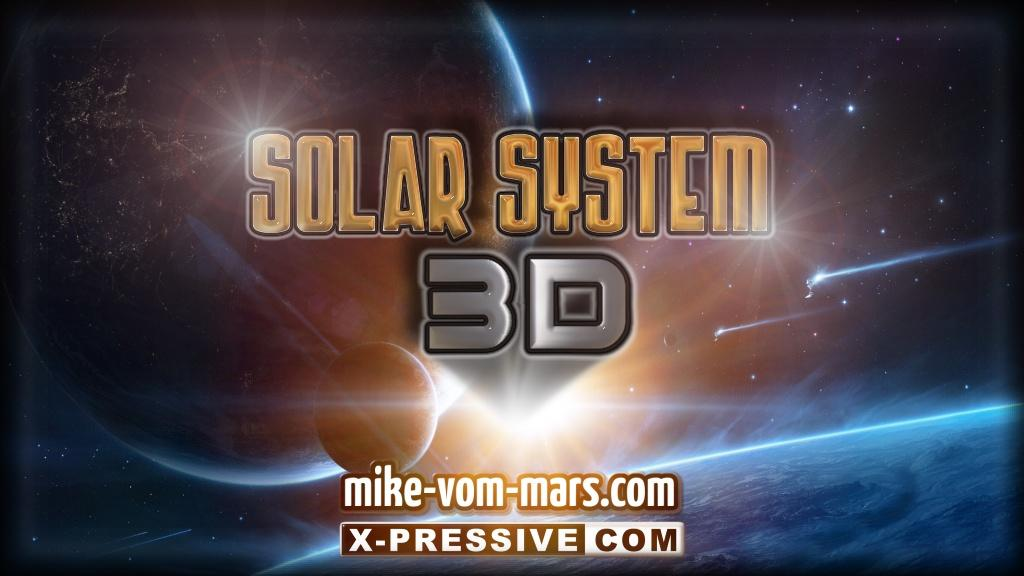 3D SOLAR SYSTEM- screenshot