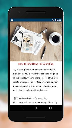 Blogging Tips (2020) screenshot 4