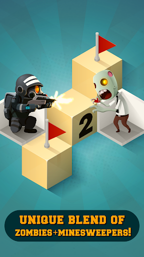Zombie Sweeper: Minesweeper Action Puzzle 1.1.015 screenshots 1