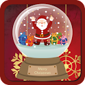 Magic Christmas ball icon