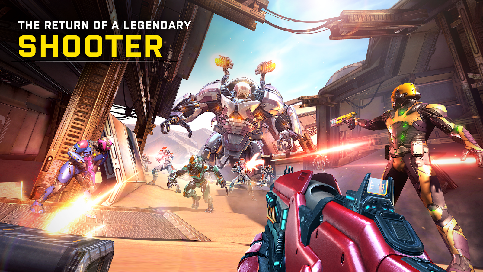 Pre-register event do Shadowgun Legends – zrzut ekranu