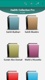 Hadith Collection Pro- screenshot thumbnail