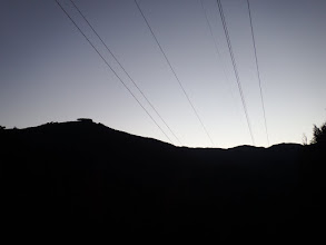 鉄塔からの眺め(724mピーク)