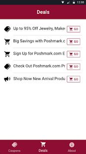 Free Coupons For Poshmark Fashion - náhled